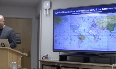 """""""Juridical Colonialism, International Law, and the Ottoman Response"""""""