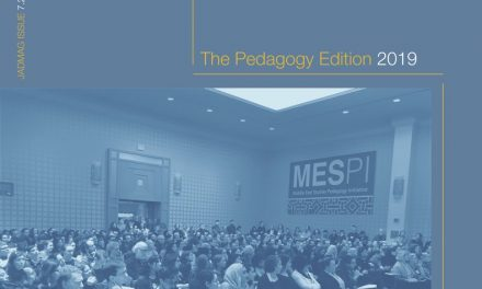 The 2019 Pedagogy JadMag