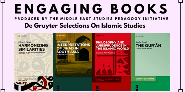 Engaging Books Series: De Gruyter Selections on Islamic Studies