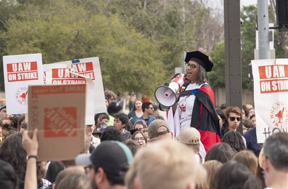 Unprecedented Dismissal of Graduate Students in California for Labor Strike