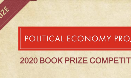 Announcing the 2020 Political Economy Book Prize Competition (Political Economy Project)