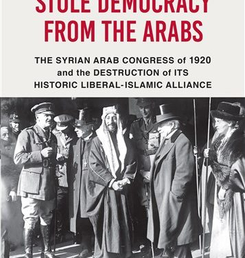 NEWTON: How the West Stole Democracy from the Arabs