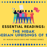 Essential Readings: The Hirak (Algerian Uprisings of 2019)