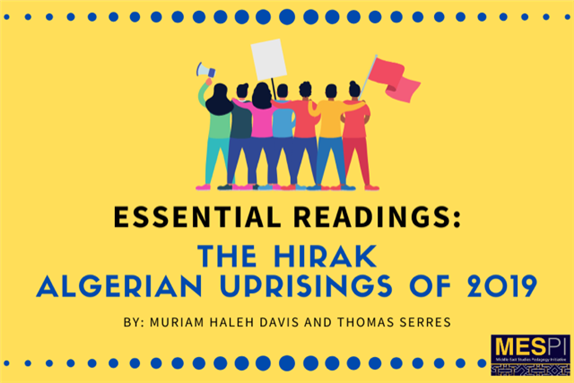 Essential Readings: The Hirak (Algerian Uprisings of 2019)