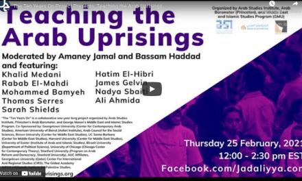 Teaching the Arab Uprisings