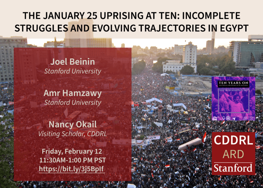 The January 25 Uprising at Ten: Incomplete Struggles and Evolving Trajectories in Egypt
