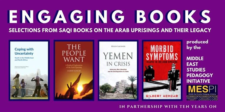 Engaging Books Series: Saqi Books Selections on the Arab Uprisings